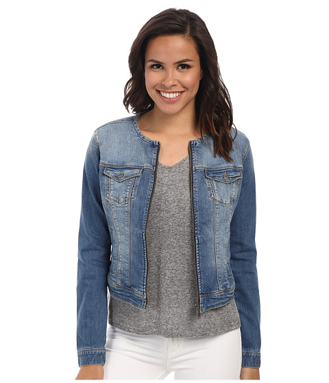 Imbracaminte Femei Mavi Jeans Claire Collarless Fitted Jacket Light
