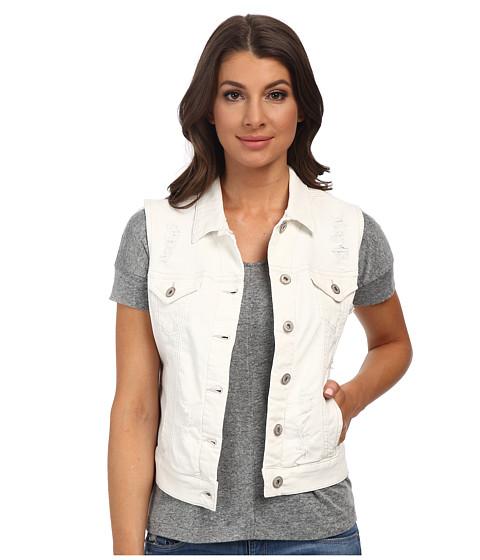 Imbracaminte Femei Mavi Jeans Jodi Denim Vest Used White