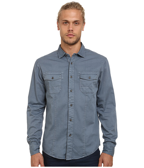 Imbracaminte Barbati Mavi Jeans Folded Sleeve Shirt Moonlight Blue