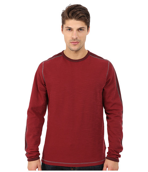 Imbracaminte Barbati Agave Denim Long Sleeve Crew Military Sleeve Cabernet