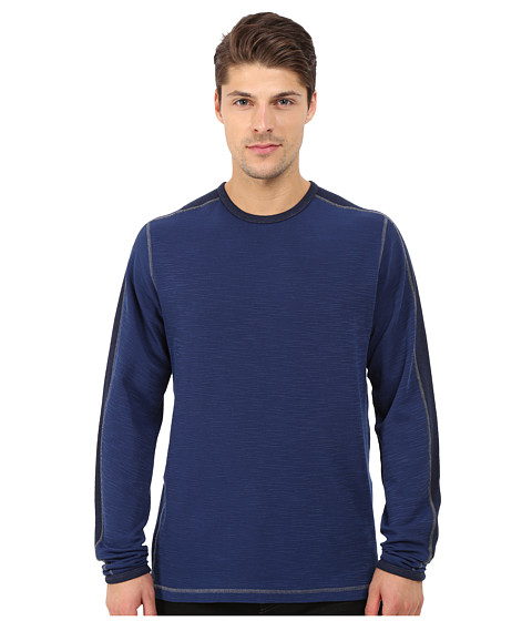 Imbracaminte Barbati Agave Denim Long Sleeve Crew Military Sleeve Medieval Blue