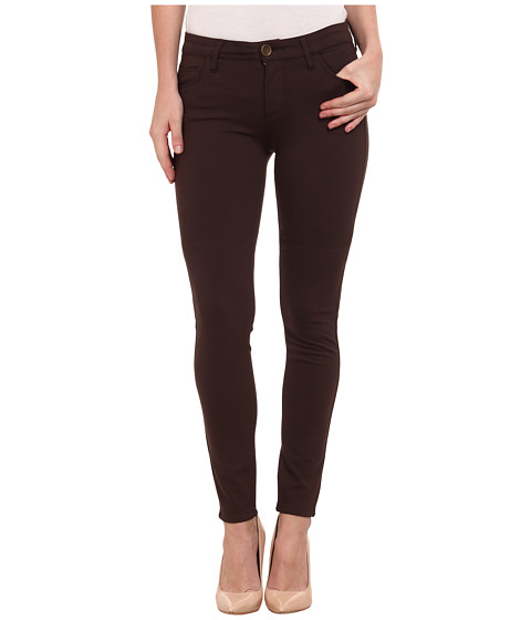 Imbracaminte Femei KUT from the Kloth Mia Toothpick Skinny Pant in Chocolate Chocolate
