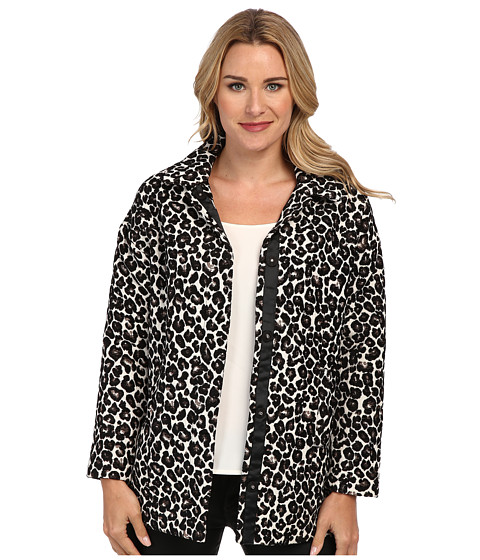 Imbracaminte Femei KUT from the Kloth Francisco Draped Shoulder Shirt Leopard