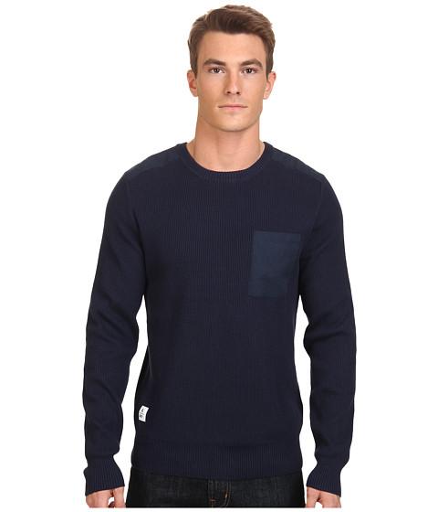Imbracaminte Barbati WeSC Kayden Sweater Blue Iris