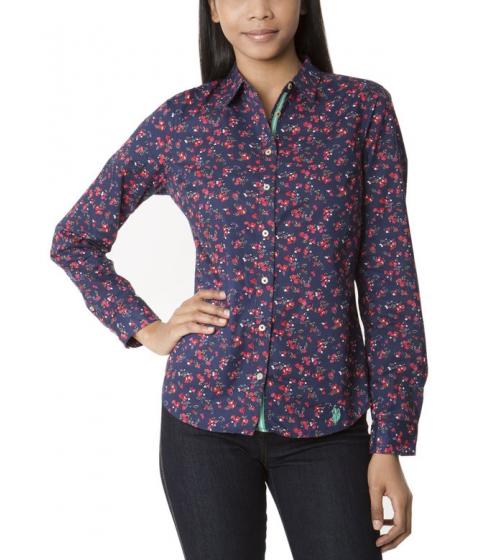 Imbracaminte Femei US Polo Assn Floral Print Shirt EVENING BLUE