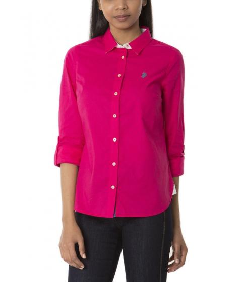 Imbracaminte Femei US Polo Assn Dot Print Shirt BRIGHT ROSE