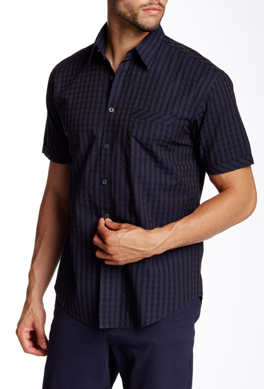 Imbracaminte Barbati James Campbell Regular Fit Pauley Plaid Woven Shirt INK