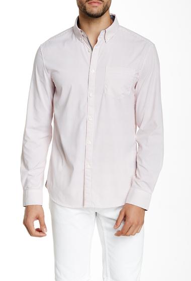 Imbracaminte Barbati Kenneth Cole New York Striped Long Sleeve Slim Fit Shirt Redstone Com