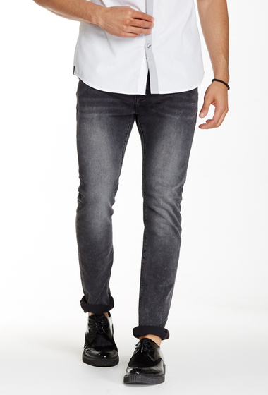 Imbracaminte Barbati Kenneth Cole New York Experimental Skinny Jean - 29-34 Inseam Grey
