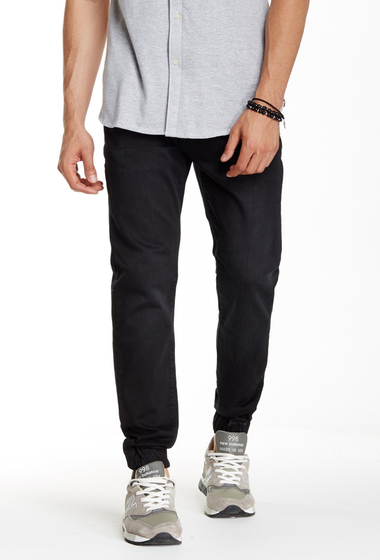 Imbracaminte Barbati Kenneth Cole New York Knit Denim Jogger Black
