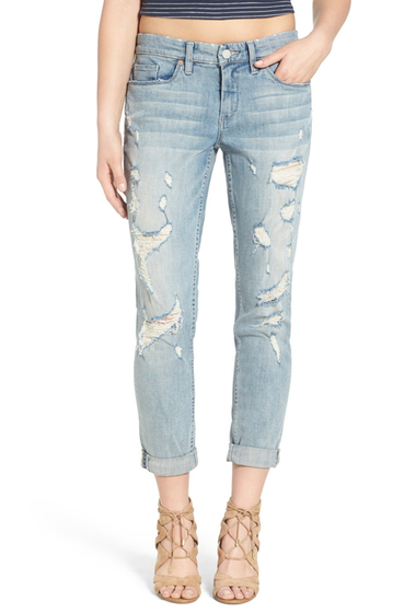Imbracaminte Femei BLANKNYC Denim Distressed Boyfriend Jean NEVER SAY NEVER