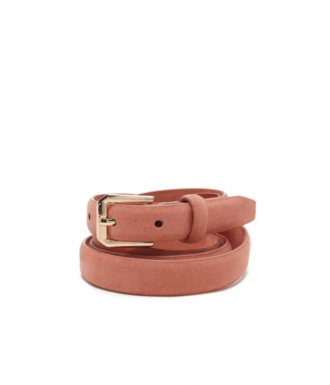 Imbracaminte Femei Forever21 Skinny Faux Leather Belt Coral