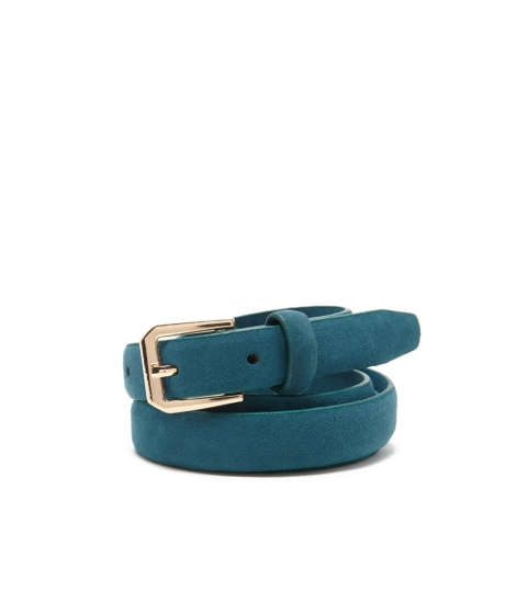 Imbracaminte Femei Forever21 Skinny Faux Leather Belt Teal
