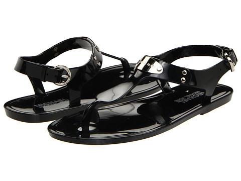 Incaltaminte Femei Michael Kors MK Plate Jelly Black