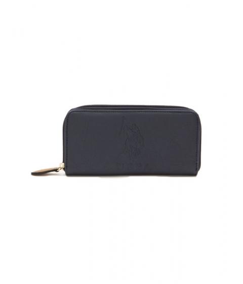 Accesorii Femei US Polo Assn Kingston Embossed Wallet Classic Navy