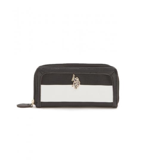 Accesorii Femei US Polo Assn EVELYN STRIPE Wallet Black