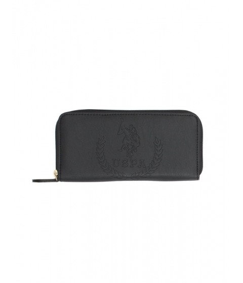 Accesorii Femei US Polo Assn Kingston Embossed Wallet Black