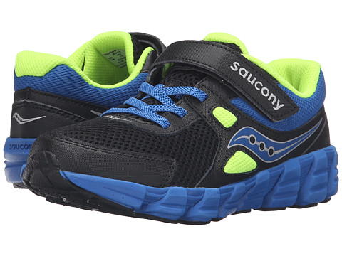 Incaltaminte Baieti Saucony Vortex AC (Little Kid) BlackBlueCitron