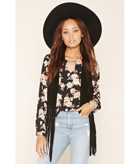 Imbracaminte Femei Forever21 Woven Floral Blouse Blackpink
