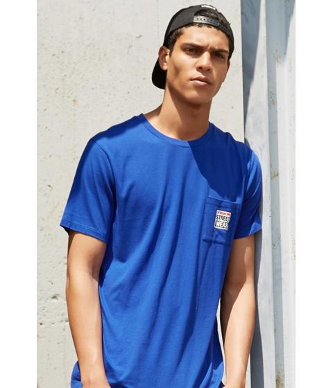 Imbracaminte Barbati Forever21 Vision Street Wear Tee Blueblack