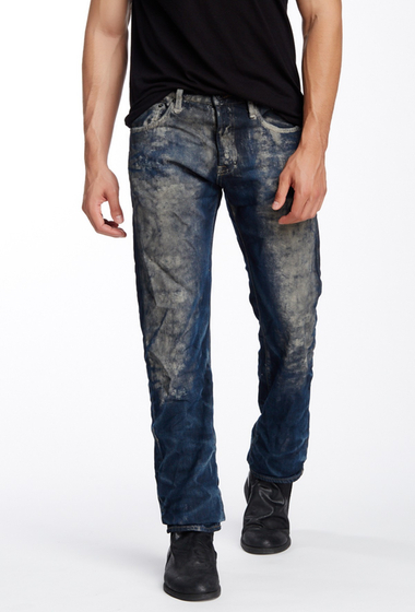 Imbracaminte Barbati Prps Weaver Distressed Illusion Jean INDIGO