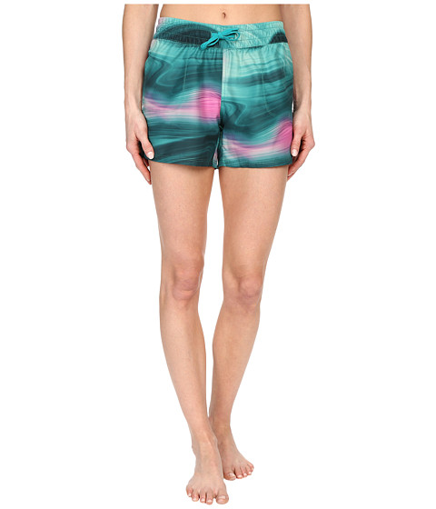 Imbracaminte Femei The North Face Printed Class V Shorts Teal Blue Water Swirl Print (Prior Season)