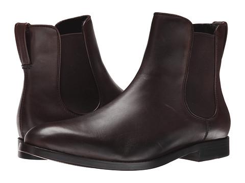 Incaltaminte Barbati COACH Arnold Chelsea Boot Dark Brown Leather