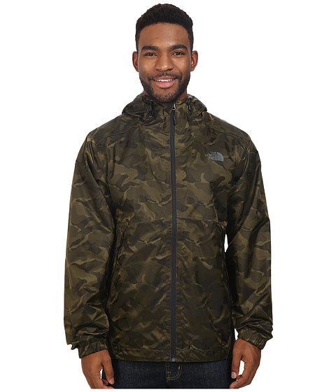 Imbracaminte Barbati The North Face Millerton Jacket Black Ink Green Camo