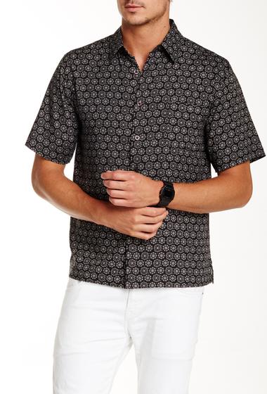 Imbracaminte Barbati Toscano Foulard Print Short Sleeve Shirt BLACK