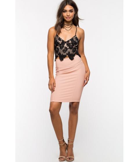 Imbracaminte Femei CheapChic Bodycon Pencil Skirt Mauve
