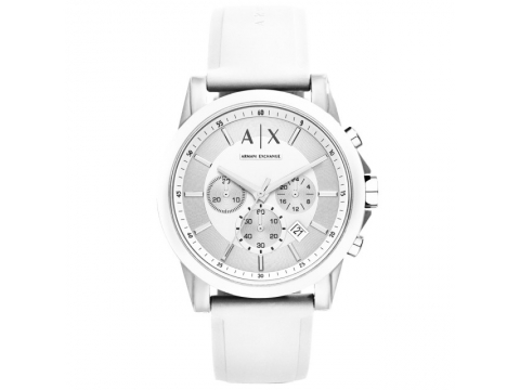 Ceasuri Barbati Armani Exchange Active Chronograph Men's Watch Silver