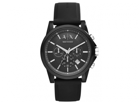 Ceasuri Barbati Armani Exchange Active Chronograph Men's Watch Black