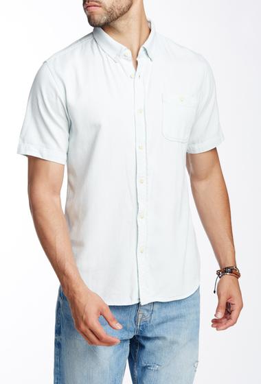 Imbracaminte Barbati Ezekiel Howser Woven Short Sleeve Regular Fit Shirt LIGHT INDIGO