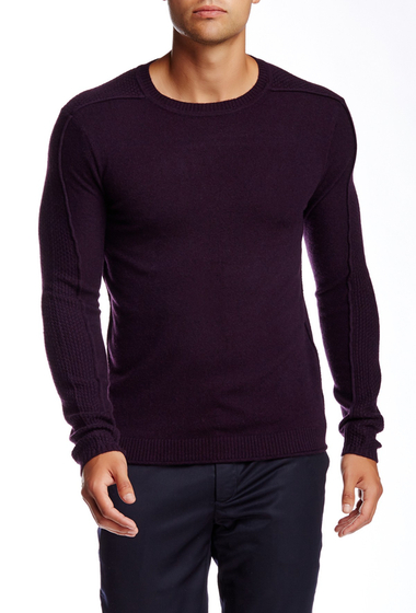 Imbracaminte Barbati Quinn Phillips Cashmere Crew Neck Sweater Aether Purple