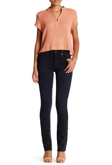 Imbracaminte Femei James Jeans High Class Straight Leg Jean Baroque