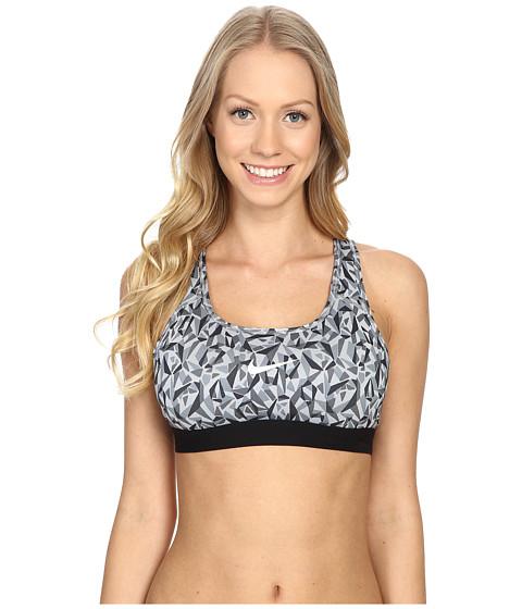 Imbracaminte Femei Nike Pro Classic Facet Bra Wolf GreyBlackWhite