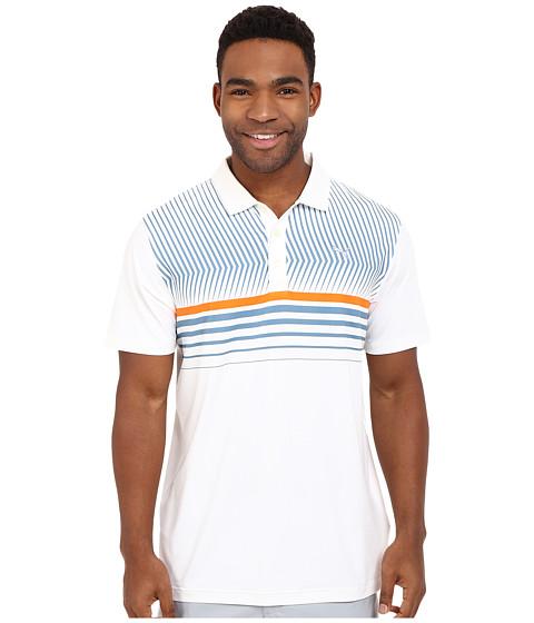 Imbracaminte Barbati PUMA Golf Short Sleeve Surface Stripe Polo Bright White