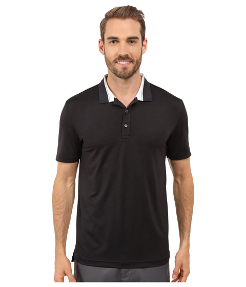 Imbracaminte Barbati PUMA Golf Short Sleeve Tailored Stripe Polo Black