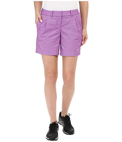 Imbracaminte Femei Nike Golf Oxford Shorts Cosmic PurpleWhite