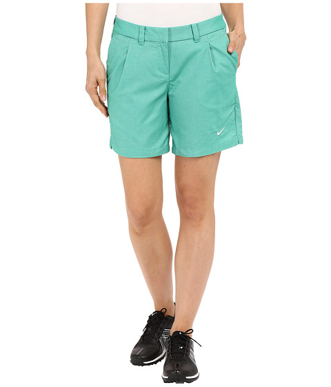 Imbracaminte Femei Nike Golf Oxford Shorts Lucid GreenWhite
