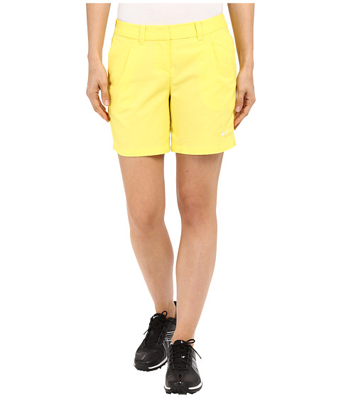 Imbracaminte Femei Nike Golf Oxford Shorts Optic YellowWhite