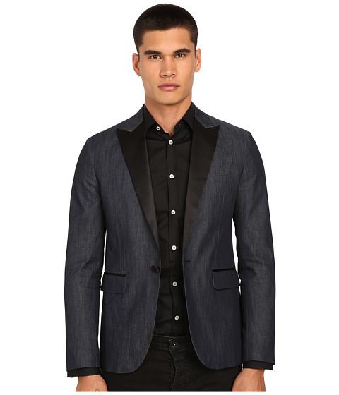 Imbracaminte Barbati DSQUARED2 Tokyo Canadian Tuxedo Jacket Blue