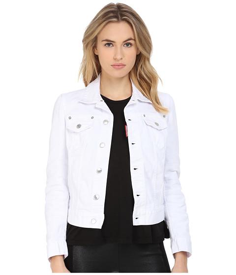 Imbracaminte Femei DSQUARED2 Garment Dyed Jean Jacket White