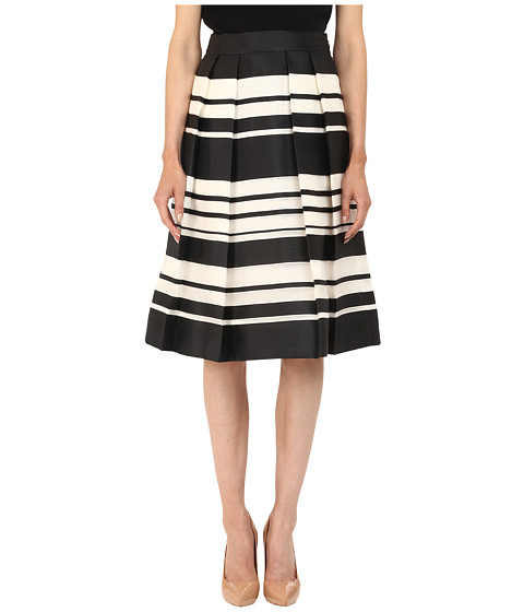 Imbracaminte Femei Kate Spade New York Cape Stripe Organza Skirt BlackCream