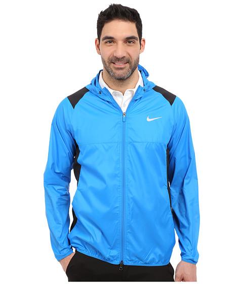 Imbracaminte Barbati Nike Golf Range Packable Hooded Jacket Photo BlueMidnight NavyFlt Silver