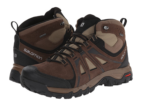 Incaltaminte Barbati Salomon Evasion Mid GTX Absolute Brown-XBurroDark Navajo