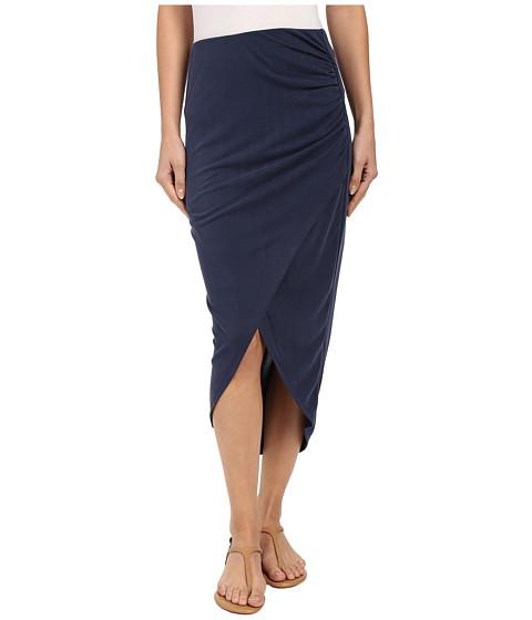Imbracaminte Femei Splendid Sandwash Jersey Wrap Skirt Coastal Navy