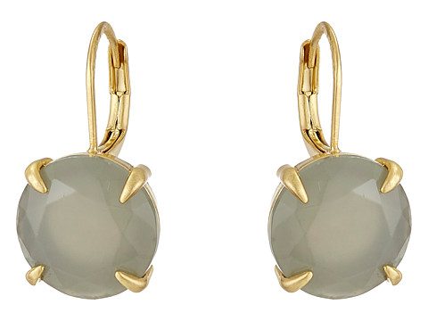 Bijuterii Femei Vince Camuto Round Leverback Earrings Worn GoldMilky Grey