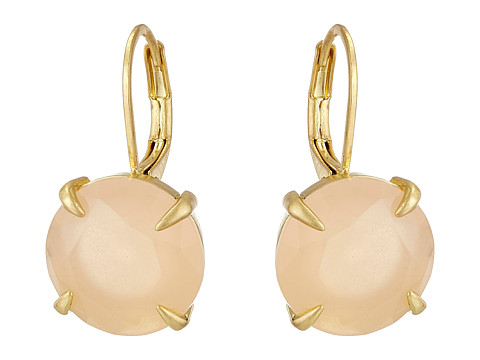 Bijuterii Femei Vince Camuto Round Leverback Earrings Worn GoldMilky Light Peach