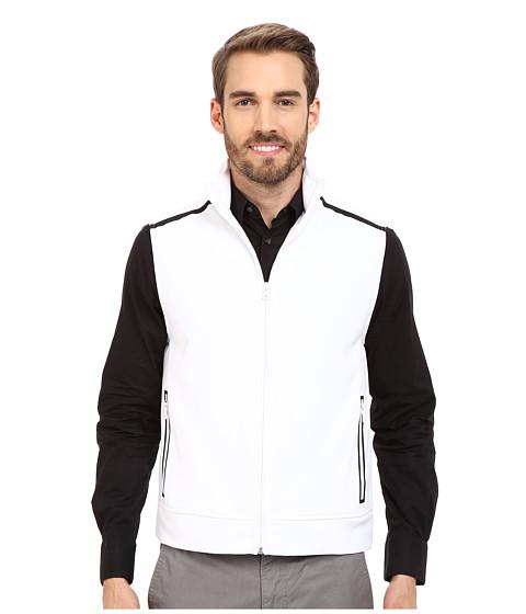 Imbracaminte Barbati Kenneth Cole Sportswear Contrast Zip-Front Vest White